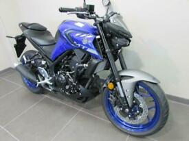 YAMAHA MT-03 ABS 2020 MODEL, 71 REG 0 MILES, ICE FLUO, ICON BLUE OR TECH BLAC...