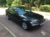 BMW 318 SE 2002 5 SPEED BLACK 105k HISTORY