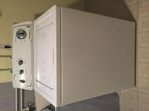 freezer, fridge, stove, washing machine, dryer