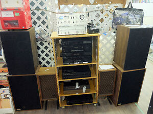 Speakers, Amplifiers, Tube-Preamp, Solid State Amps