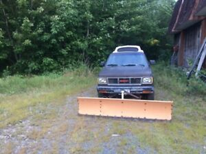 Reduced 1983 GMC Plow Truck