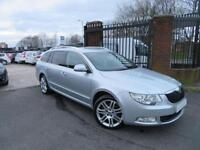2012 62 SKODA SUPERB 3.6 ELEGANCE V6 DSG 5D AUTO 260 BHP EX POLICE CAR FSH VGC