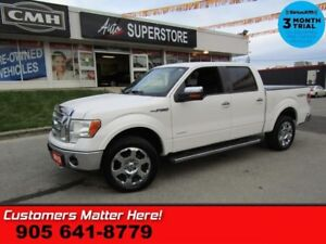 2012 Ford F-150 Lariat  4X4 CREW LEATHER CAM BT HS CS REMOTE ALL