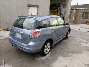 Toyota Matrix.  Clean - interior, exterior