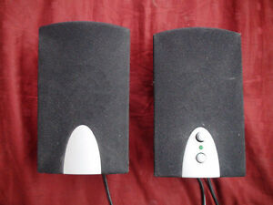 Computer Speakers and Power Supply,