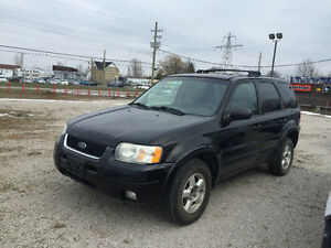2004 FORD ESCAPE LIMITED ★ LEATHER ★ 4x4 ★ HEATED SEATS