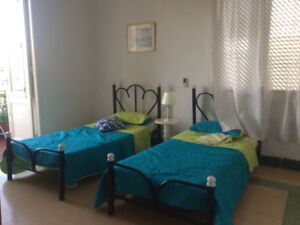 2 Rooms and Terrace in Vedado,Havana