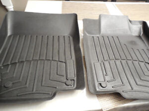 Weather Tech Mercedes-benz 2007 - 2012 gl Front Foorliners Mats