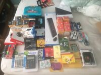 Stationary Job Lot. Pens, Mouse, Keyboards, Markers, Lock