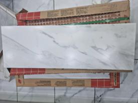 5 x Cristacer Revestimiento 20x60cm Marble Effect Tiles