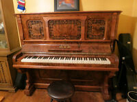 Antique Upright Piano **STILL AVAILABLE