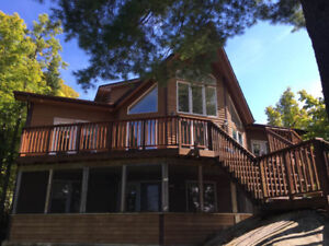 Beautiful Full Privacy Waterfront Cottage for Sale