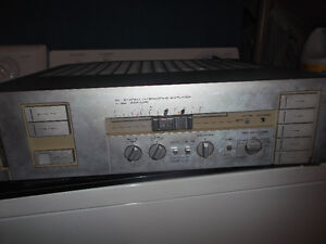 power amp and tape deck