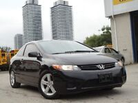 2008 Honda Civic LX  Coupe with Sunroof Only $5495