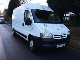 2005 Citroen Relay 2.2 HDi 1800 LWB Only 124k No Vat