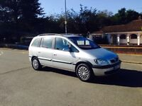 ZAFIRA 2004-1.6 DESIGN-7 SEATER CLEAN FAMILY RUNNER-GREAT BODY WORK LONG MOT-2 OWNER-DRIVES PERFECT