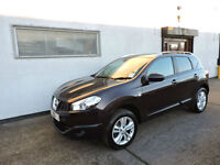 10 Nissan Qashqai 1.5dCi 2WD N-TEC Damaged Salvage Repairable