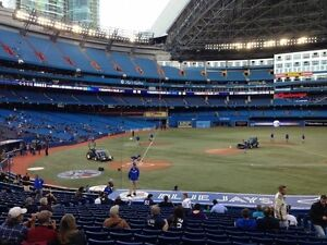 TORONTO BLUE JAYS TICKETS - SATURDAY APRIL 29TH - AMAZING SEATS!