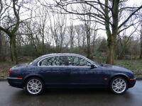 2005 55 Jaguar S-TYPE 2.7D V6 auto SE..SAT NAV..HIGH SPEC!!