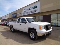 2010 GMC Sierra 2500HD 4x4 Ext Cab. Now located at 10110 82 Ave!
