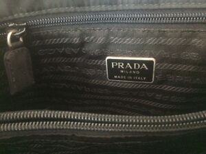 Authentic Black fabric Prada purse Gatineau Ottawa / Gatineau Area image 4