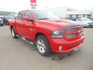 2013 Ram 1500 SPORT w/Navigation, Leather & Heated Seats, S...