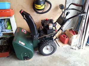 Craftsman 27 inch 9HP Snowblower $600 - Salmon Arm