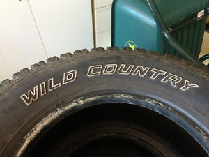 Wild Country truck tires
