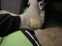 used wool work socks
