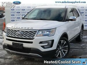 2016 Ford Explorer Platinum  - Leather Seats -  Navigation