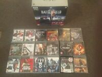 PS3 + 2 controllers + 18 games