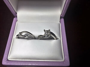 Michael Hill engagement ring and wedding band set