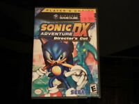 Sonic DX adventure: Director's cut complete Gamecube