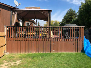 20x30 Wooden Deck Complete - I need it removed - you can have it