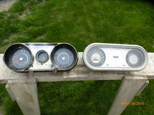 62-65 Chevy 11 SS gauges and 62-65 Acadian Canso SD gauges  SOLD