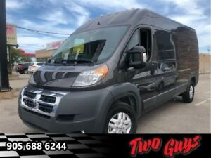 "2018 Ram ProMaster 2500 High Roof 159"" WB  Literally 70kms!!!!"