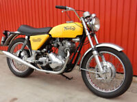 NORTON COMMANDO 750 ROADSTER 1970 Matching Numbers