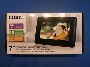 Coby Widescreen Digital Photo Frame DP730