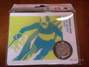 Pièce de Monnaie 25 cents Mule Ski Alpin Couleur daté 2008