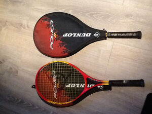Two Dunlop Power 27 Tennis Raquets Kingston Kingston Area image 1