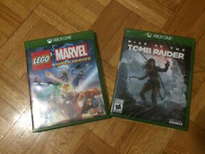 Lego - Super heroes et Rise of the Tomb Raider - Xbox One