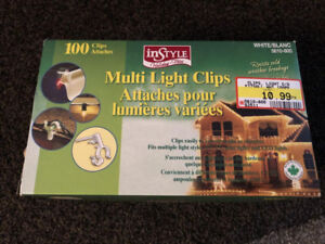 85 CHRISTMAS LIGHT CLIPS