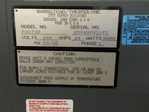 Four à très haute température mouffle (muffle) 1200 degrés C West Island Greater Montréal image 4