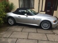 Bmw z3 1.9 1998 R Reg private plate included .