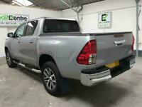*from £91 per week* SILVER TOYOTA HI-LUX 2.4 INVINCIBLE 4WD D-4D DCB 148 BHP