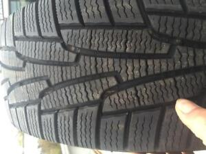 4 - Kuhmo Winter Tires with Excellent Tread - 235/70 R16