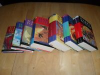 Complete Lot of 7 HARRY POTTER Hard Cover Books