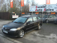 2003 VAUXHALL ASTRA LS 1.7DTi ESTATE, LONG MOT