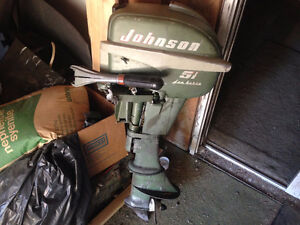 5 1/2 johnson outboard  $120 firm