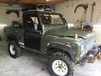 Land Rover defender pick up